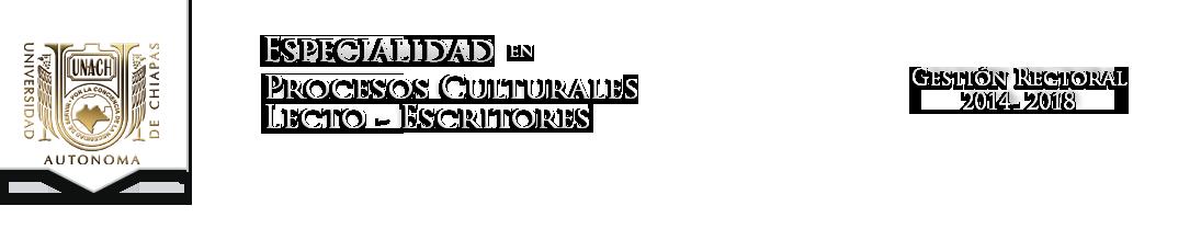 Especialidad en Procesos Culturales LectoEscritores