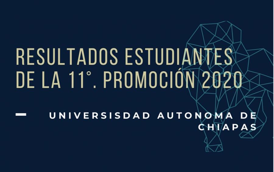 resultados 11° promocion 2020